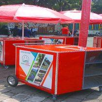 Crea la UAM vehículos móviles ligeros y resistentes para el comercio en vía pública