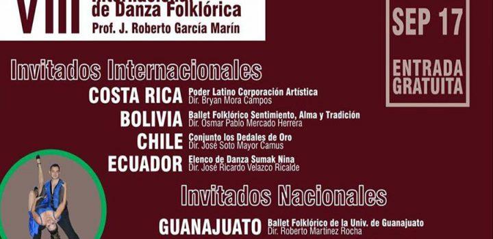 Morelia se prepara para festín internacional de danza folklórica