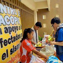 Hidalguenses suman apoyo en beneficio de población poblana y morelense