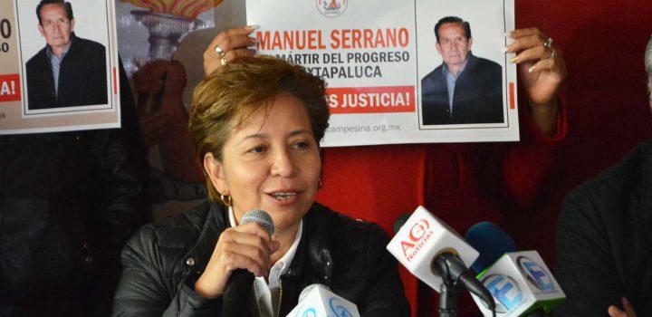 Piden no dar carpetazo al crimen político de Manuel Serrano