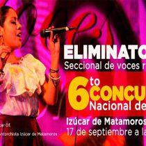 Anuncian concurso de canto en Izúcar