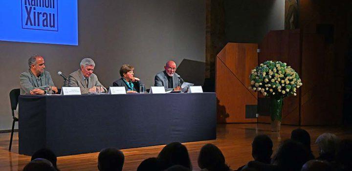 Rinden homenaje a Ramón Xirau en el Palacio de Bellas Artes