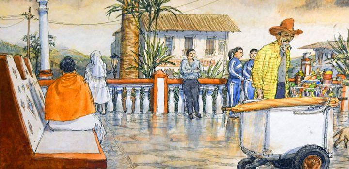 Exhibe el Museo de Arte Moderno la muestra Nicolás de Crécy. Bitácora mexicana