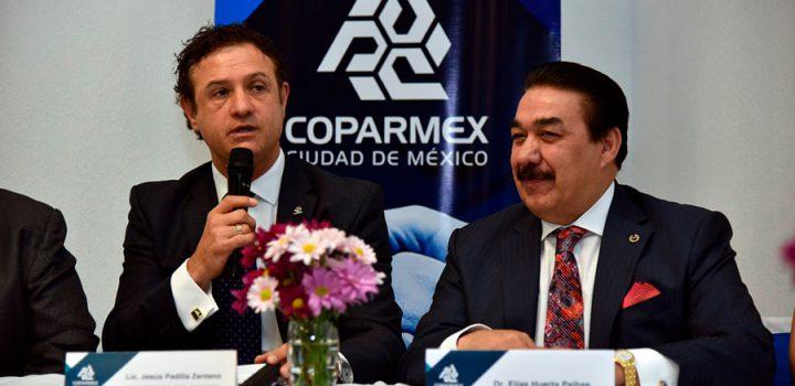 COPARMEX CDMX firma convenio con la Universidad IUS Semper