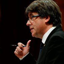 Carles Puigdemont advierte que no irá al Senado a resolver caso Cataluña