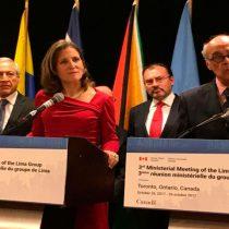 Declaración de la tercera reunión del Grupo de Lima sobre la situación en Venezuela