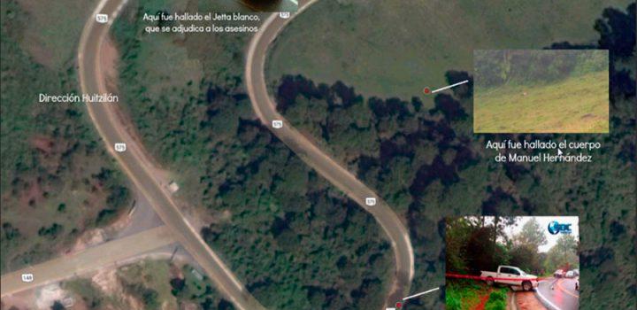 La emboscada contra el alcalde de Huitzilan de Serdán