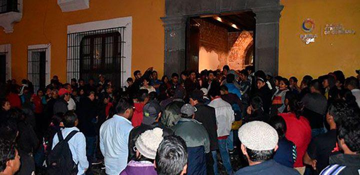 Protestan en Puebla por crímenes políticos