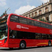 Ya llegaron a la CDMX las unidades de dos pisos del Metrobús