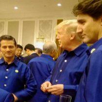 Peña Nieto platica con Donald Trump en cumbre de APEC