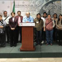Exigen diputados federales castigo para responsables del asesinato político del alcalde antorchista de Huitzilan de Serdán
