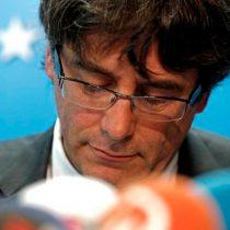 Puigdemont no declarará en España, pide hacerlo desde Bélgica