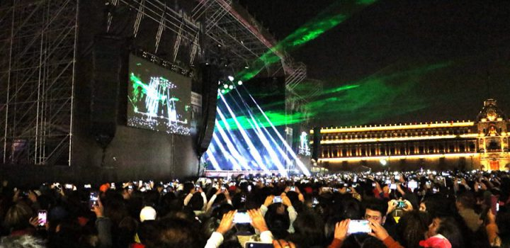 Reúne Timbiriche a 80 mil personas en Zócalo de CDMX