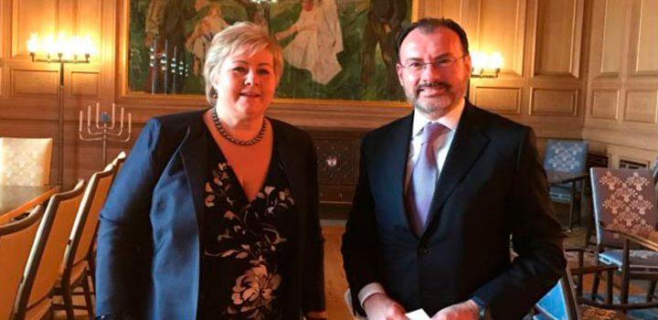 Acompaña el Secretario Luis Videgaray a la ICAN a recibir el Premio Nobel de la Paz en Oslo, Noruega