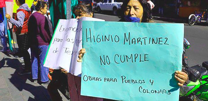 Alcalde de Texcoco abandona cargo sin resolver conflictos ambientales y de seguridad: Vecinos