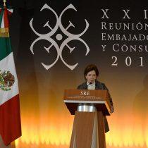 María Cristina García Cepeda, participó en la XXIX Reunión de Embajadores y Cónsules