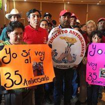 50 mil antorchistas listos para exigir justicia para Manuel Hernández Pasión