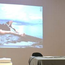 Alfredo Salomón presentó parte de su videodanza en el Cenart