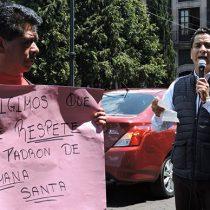 Toluca, escenario de numerosas protestas por mal gobierno de Fernando Zamora
