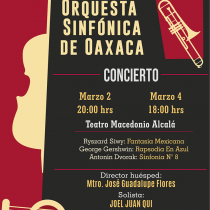 Apunto de arrancar Primera Temporada de la Orquesta  Sinfónica de Oaxaca