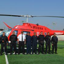 Resultados exitosos del patrullaje aéreo en Chimalhuacán