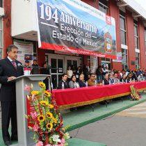 Celebran 194 Aniversario de la fundación y la constitución del Estado de México