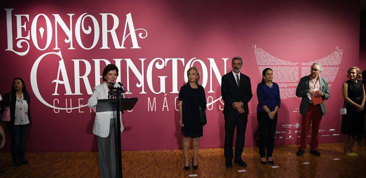 Cientos de admiradores celebran a Leonora Carrington en la apertura de su retrospectiva en el MAM