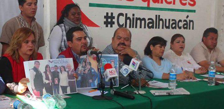 Denuncian agresiones orquestadas por MORENA en Chimalhuacán