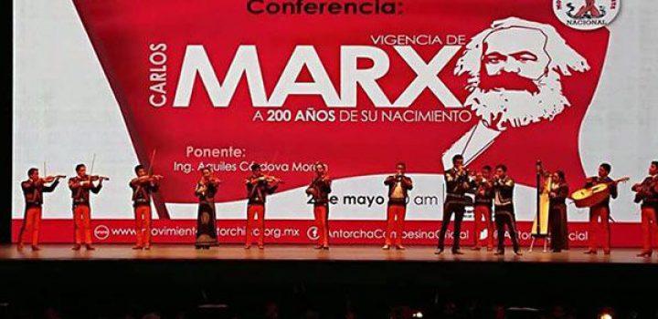 Carlos Marx y Aquiles Córdova Morán, dos grandes hombres presentes en el Auditorio Nacional