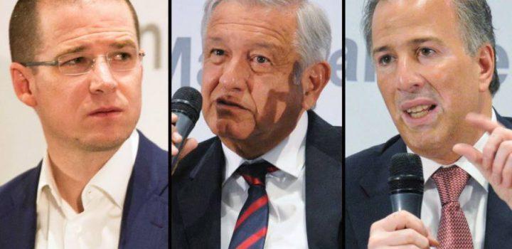 ¿Qué negociación se vislumbra más al acercarse la elección: Meade-Anaya, Meade-AMLO o Anaya-AMLO?