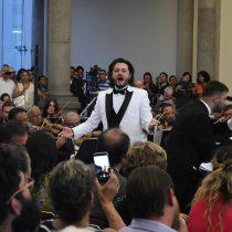 Ovacionan a Arturo Chacón y a la OSEM en el Castillo de Chapultepec