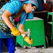 Destacan mujeres en concurso de talla en piedra 2018