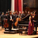 La Filarmónica de la Secretaría de Marina y solistas de la Cátedra Ricardo Castro brillan en el Conservatorio