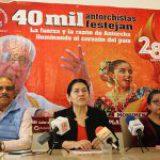 40 mil antorchistas capitalinos celebrarán su 28 aniversario en la Plaza de Toros México