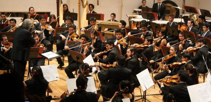 La Orquesta Escuela Carlos Chávez interpretará la Sinfonía Heroica, este fin de semana en el Cenart