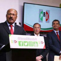 ¿Un SOS en cambio de dirigente del PRI?; Meade no levanta porque está amarrado a un sistema podrido que ya no funciona