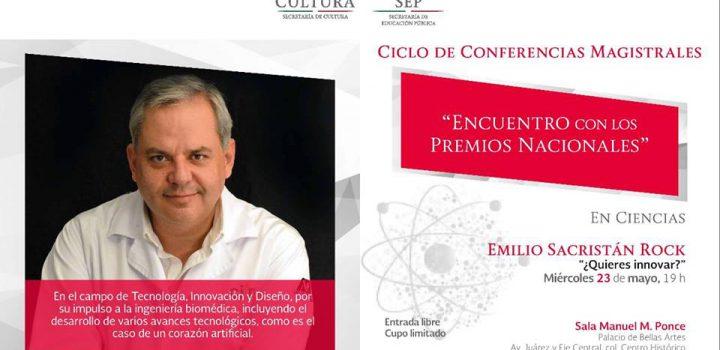 Emilio Sacristan Rock desarrolla estimulador magnético para tratamiento del infarto cerebral