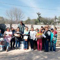 Entregan material para mejoramiento de vivienda en Iztapalapa
