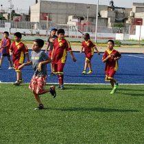 Escuela Espartaco de futbol sigue formando jóvenes