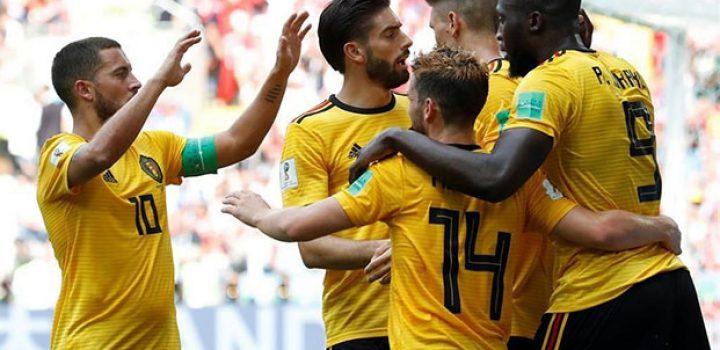 Bélgica golea 5-2 a Túnez y acaricia los octavos