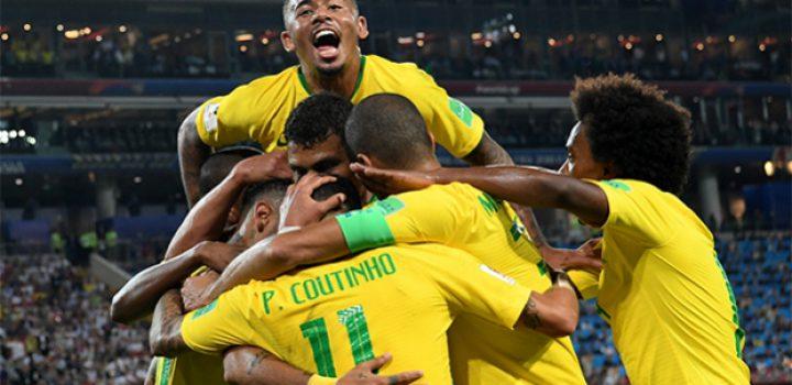 Brasil venció a Serbia y va con México