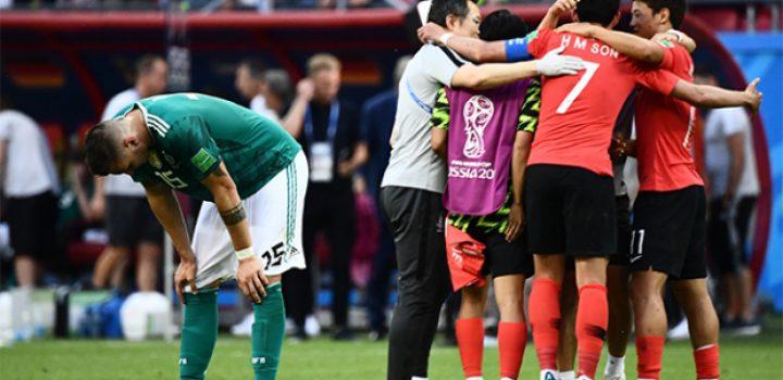 Alemania, fuera del Mundial, eliminado por Corea