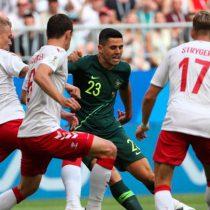 Dinamarca empató con Australia 1-1