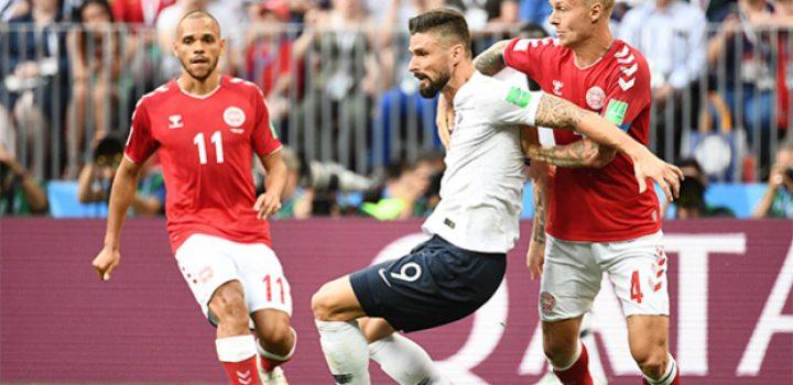 Francia y Dinamarca aburren pero avanzan a octavos