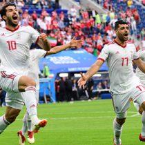 Irán sorprendió a Marruecos y lo derrotó 1-0