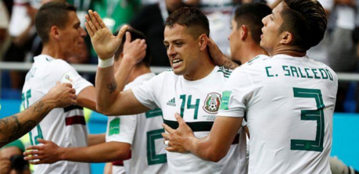 México venció a Corea del Sur 2-1 y esta a un paso de octavos