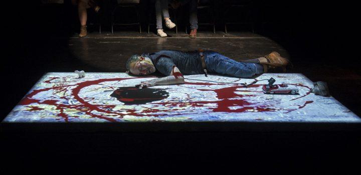 La Biblioteca de México y Teatro Entre 2 presentan Red, Black & Silver El último parpadeo de Jackson Pollock