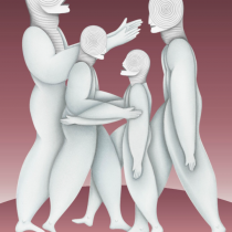Artista Noé Katz dona su pintura Transparencia a World Vision México