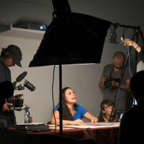 Fotógrafos Eunice Adorno y Roberto Tondopó realizan sesión de Book Jockey en el Centro de la Imagen