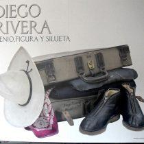 Exhiben por primera vez objetos y prendas de Diego Rivera
